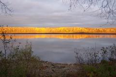 Baie Philomène éclairée